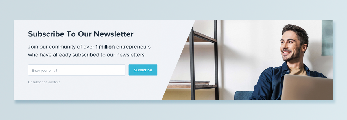 7 Examples of Highly Converting Email Newsletter Signup Forms